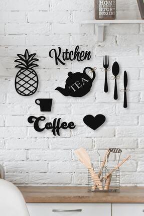 Abaküs Kitchen Yazı Mutfak Duvar Süsü Seti 3 mm