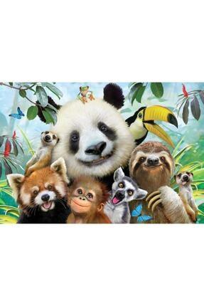 Anatolıan Hayvanat Bahçesi Selfie 500 Parça Puzzle
