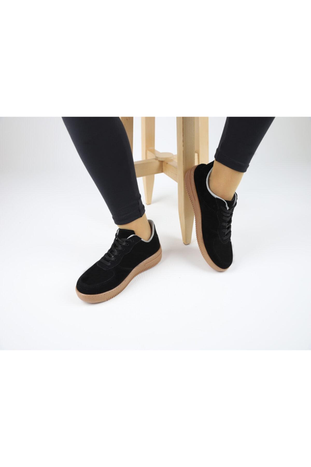 MSshopingg Kadın Siyah Casual Ayakkabı 1