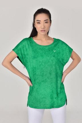 bilcee Yeşil Kadın Tshirt 8075