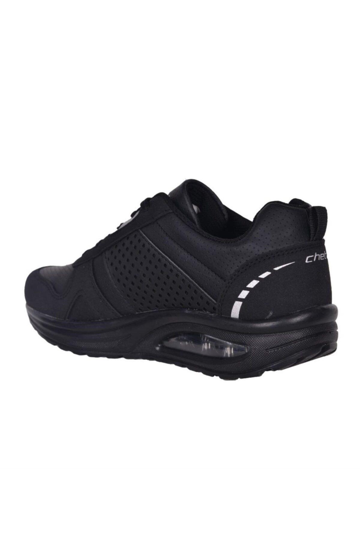 Cheta Kadın  Siyah Aırtube Yürüyüş Spor Ayakkabı Cht005 2