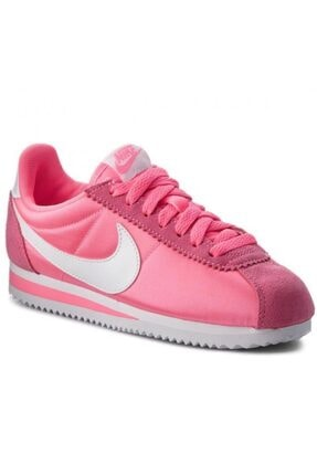 Nike Classic Cortez 15 Nylon Kadın Pembe Sneaker 749864 - 608