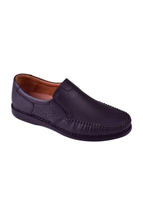 Uzman Erkek Hakiki Deri Comfort Günlük Siyah Ayakkabı U-221