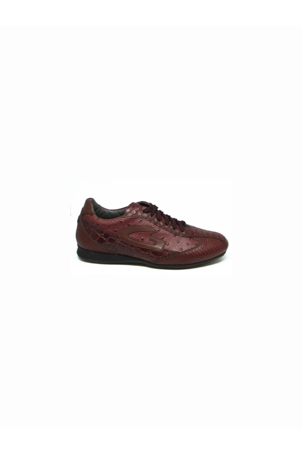 ALBERTO GUARDIANI Erkek Bordo Klasik Ayakkabı 1