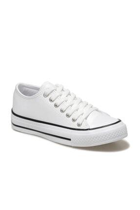 ART BELLA CS21005 1FX Beyaz Kadın Havuz Taban Sneaker 101014585