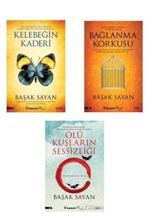 İnkılap Kitabevi Kelebeğin Kaderi-bağlanma Korkusu-ölü Kuşların Sessizliği-başak Sayan 3'lü Set