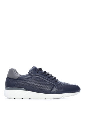 KEMAL TANCA Erkek Lacivert Derı Sneakers 708 1510 Erk Ayk Sk20-21