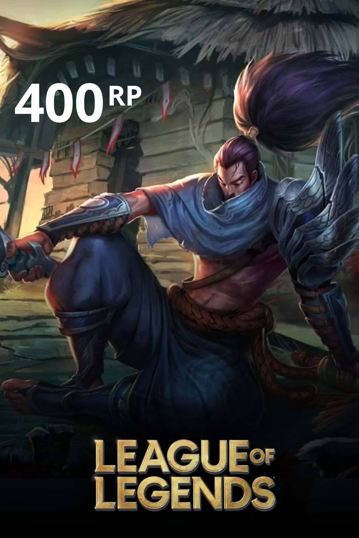 Riot Games League Of Legends 400 Rp TR