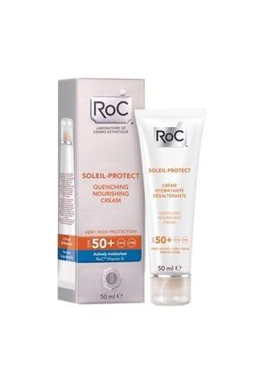 Roc Soleil Protect Quenching Nourishing Cream Spf 50+ -50 ml