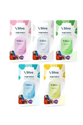 Silva Kağıt Sabun 20 Yapraklı 5'li Paket