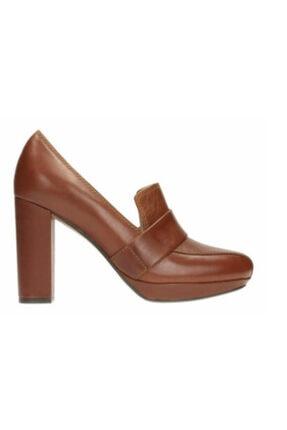 CLARKS Kadın Bronz Hakiki Deri Gabriel Soho Ayakkabı 261189204