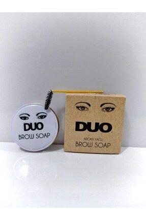 Duo Brow Soap Soapkaş Sabitleyici Şekillendirici 3d Sabun Kaş Kremi + Fırça