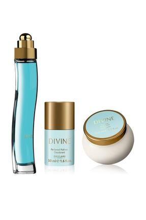 Oriflame Divine Edt 50 ml Kadın Parfüm Seti ORFST869500198