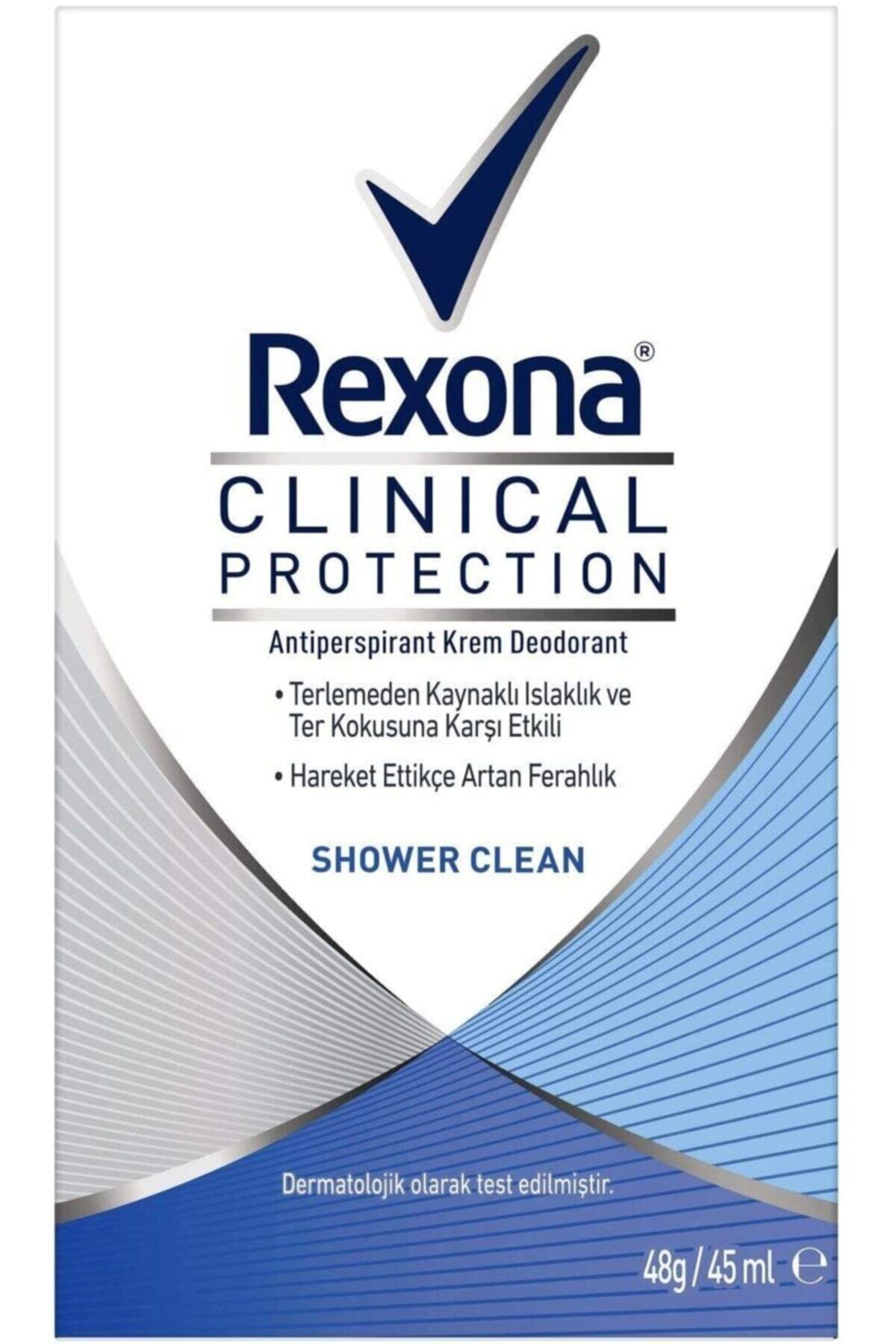 Rexona Clinical Protection Shower Clean Deodorant 45 ml 1