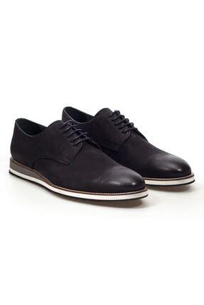 MARCOMEN Siyah Hakiki Deri Bağcıklı Erkek Günlük Ayakkabı • A20eymcm0030