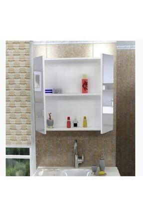 gtaş mobilya Aynalı Banyo Dolabı Lavabo Üstü Dolap