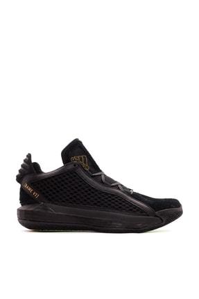 adidas Erkek Siyah Bağcıklı Basketbol Ayakkabısı