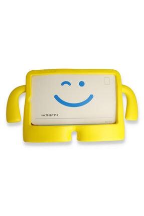 PHONACS Apple Ipad Mini 1-2-3-4-5 7.9 '' Inç Standlı Silikon Tablet Kılıfı Sarı