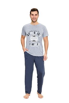 walkie Erkek Mavi Pijama Takımı