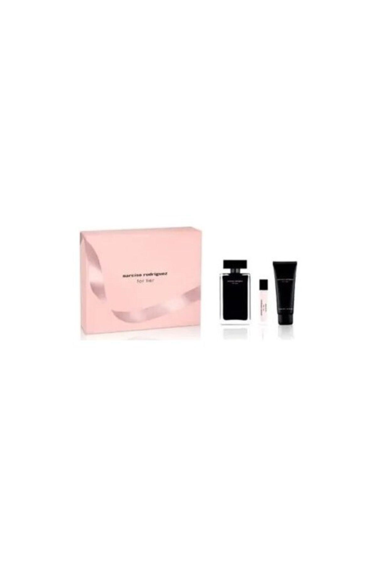 Narciso Rodriguez Edt 100 ml + Body Lotion 75 + Edt 10 Kadın Parfüm Seti 3423478464056 1