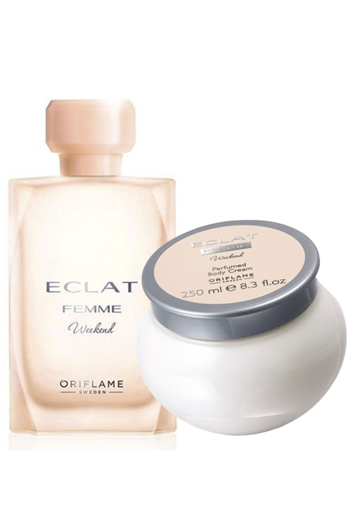 Oriflame Eclat Femme Weekend Edt 50 Ml Kadın Parfüm Ve Vücut Krem Seti 1