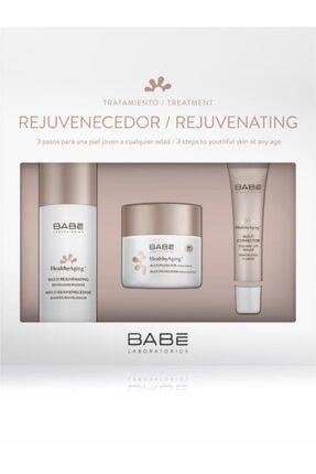 Babe Healthyaging+ Multi Rejuvenating Booster- Spf 30 Lifting Cream - Eye&lips Bakım Seti