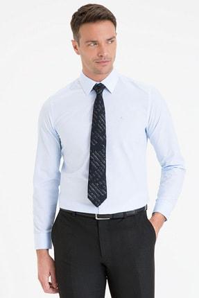 Pierre Cardin Erkek Açık Mavi Slim Fit Basic Gömlek G021GL004.000.1214552