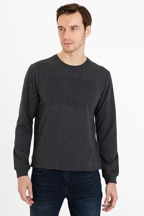 Pierre Cardin Antrasıt Melanj Erkek Sweatshirt G021Sz082.000.1235933