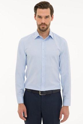 Pierre Cardin Erkek Açık Mavi Slim Fit Oxford Gömlek G021GL004.000.1214553