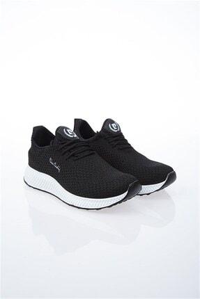 Pierre Cardin Kadın Siyah Beyaz Yürüyüş Sneaker Ayakkabı Pcs10248 V2