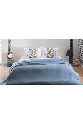 İSTİKBAL Çok Amaçlı Mavi Yatak Örtüsü