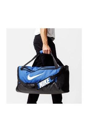 Nike BA5955-480 BRSLA DUFFEL SPOR ÇANTA (61L) 52 cm x 28 cm x 30 cm