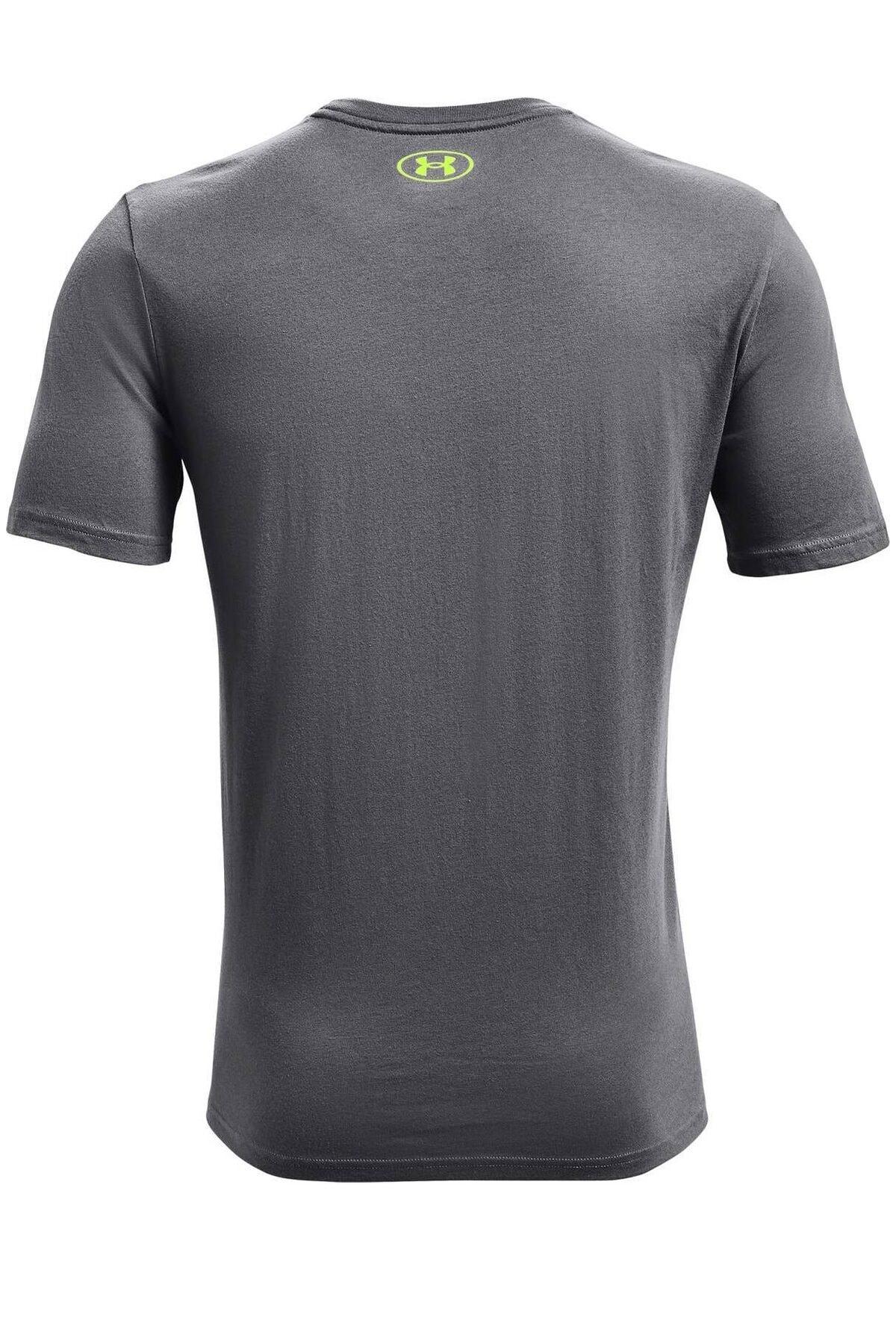 Under Armour Erkek Spor T-Shirt - UA Pjt Rock Brahma Bull SS - 1361733-012 2