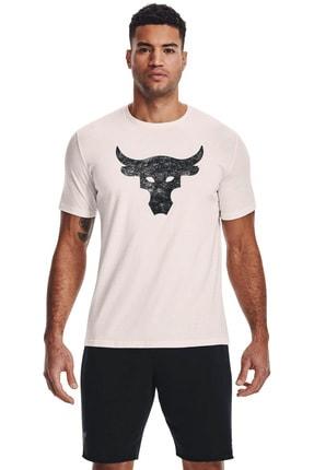 Under Armour Erkek Spor T-Shirt - UA Pjt Rock Brahma Bull SS - 1361733-112