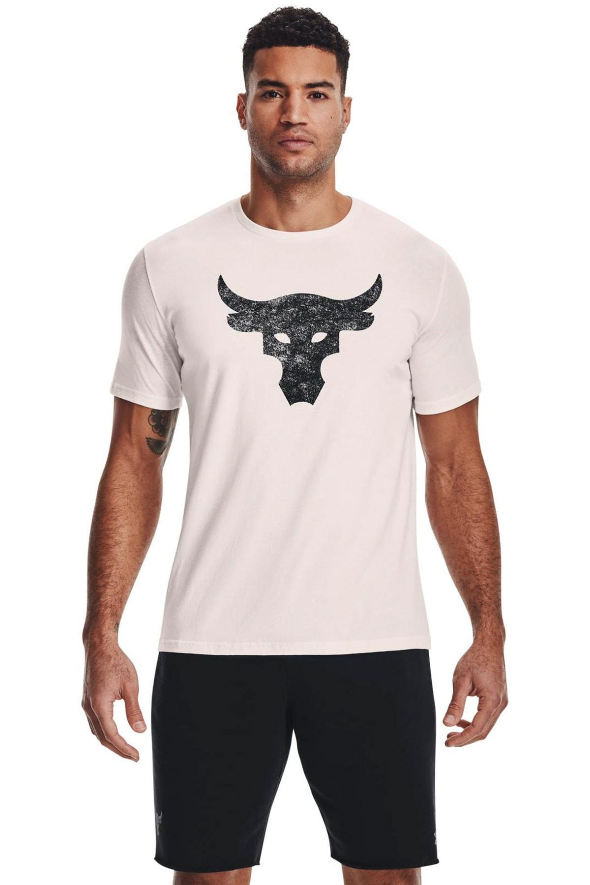Under Armour Erkek Spor T-Shirt - UA Pjt Rock Brahma Bull SS - 1361733-112 1