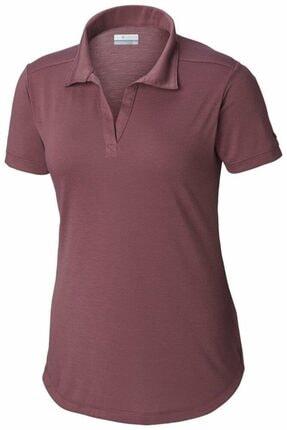 Columbia Kadın Mor Anytime Casual Polo Tişört Al2541-551