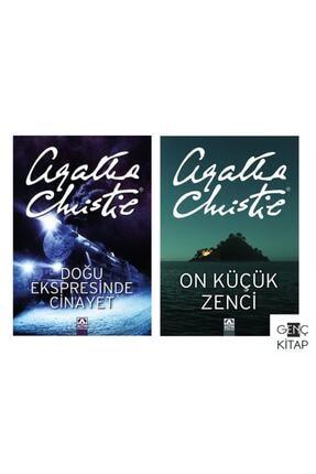 Altın Kitaplar Doğu Ekspresinde Cinayet On Küçük Zenci 2 Kitap Agatha Chrıstıe