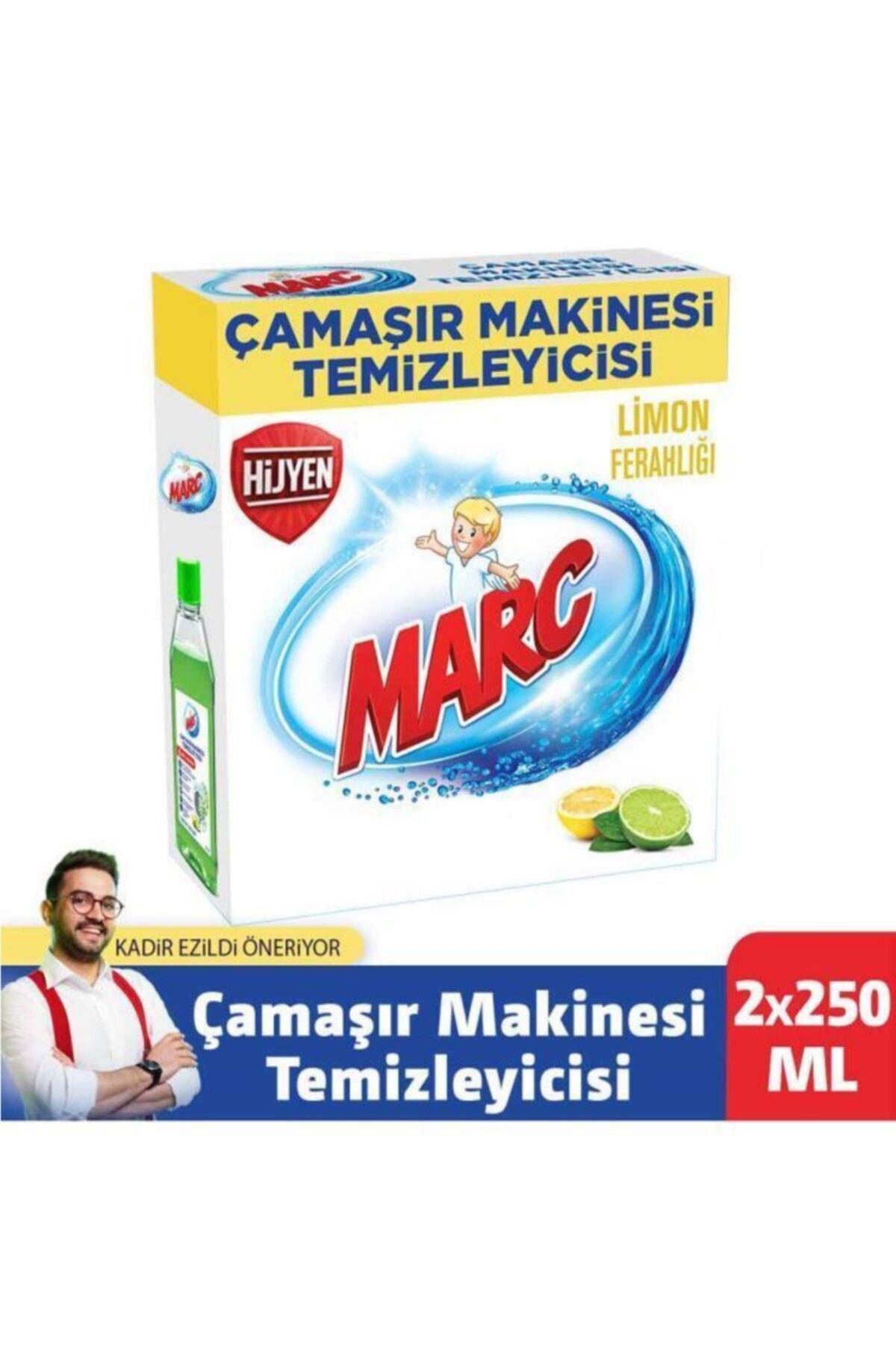 Marc Çamaşır Makinesi Temizleyici Limon Ferahlığı 2x250 Ml 1