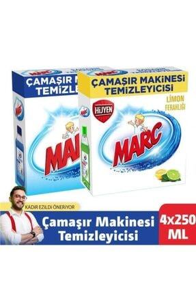 Marc Çamaşır Makinesi Temizleyici Regular + Limon Ferahlığı 4x250 Ml