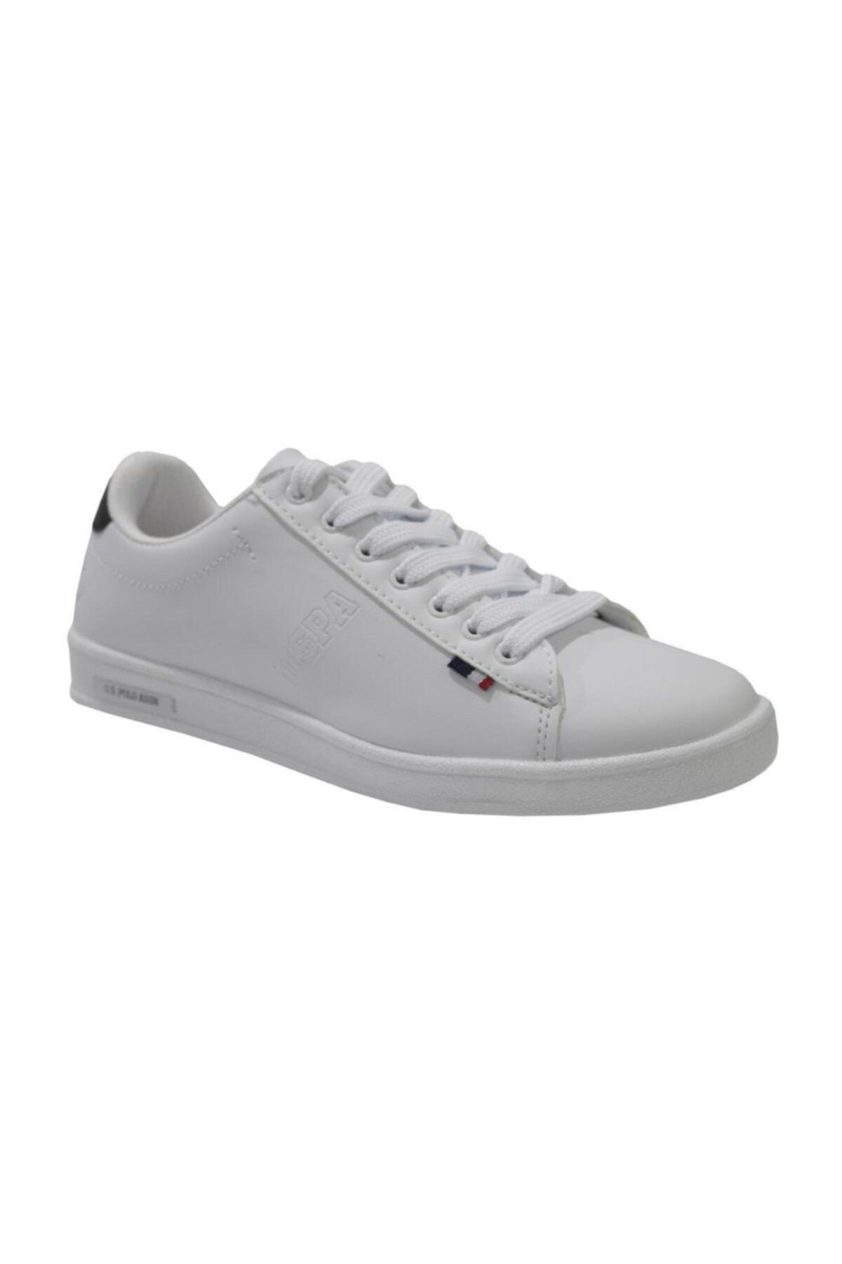 U.S. Polo Assn. Franco Unisex Beyaz Anatomik Günlük Spor Ayakkabı 1