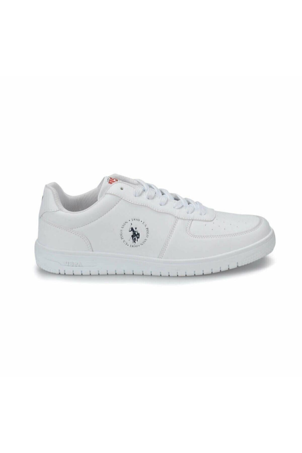 U.S. Polo Assn. DIMLER Beyaz Erkek Sneaker Ayakkabı 100281467 2