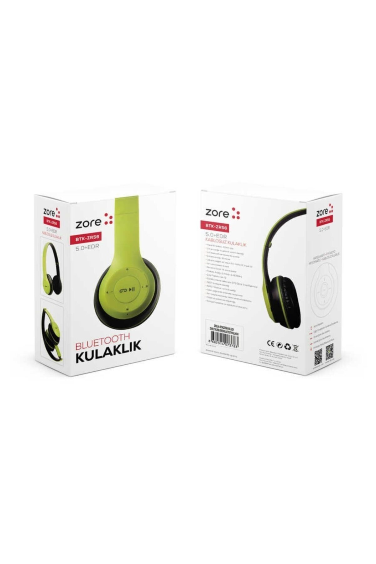 zore Btk-zr56 Uyumlu Bluetooth Kulaklık 2
