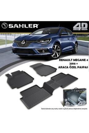 Sahler Renault Megane 4 Sedan 4,5d Havuzlu Paspas, Megane 4 Sedan Paspas, 2016- Ve Üstü Uyumlu
