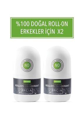 Incia Doğal Roll-on Deodorant Erkek 50 Ml 2 Li