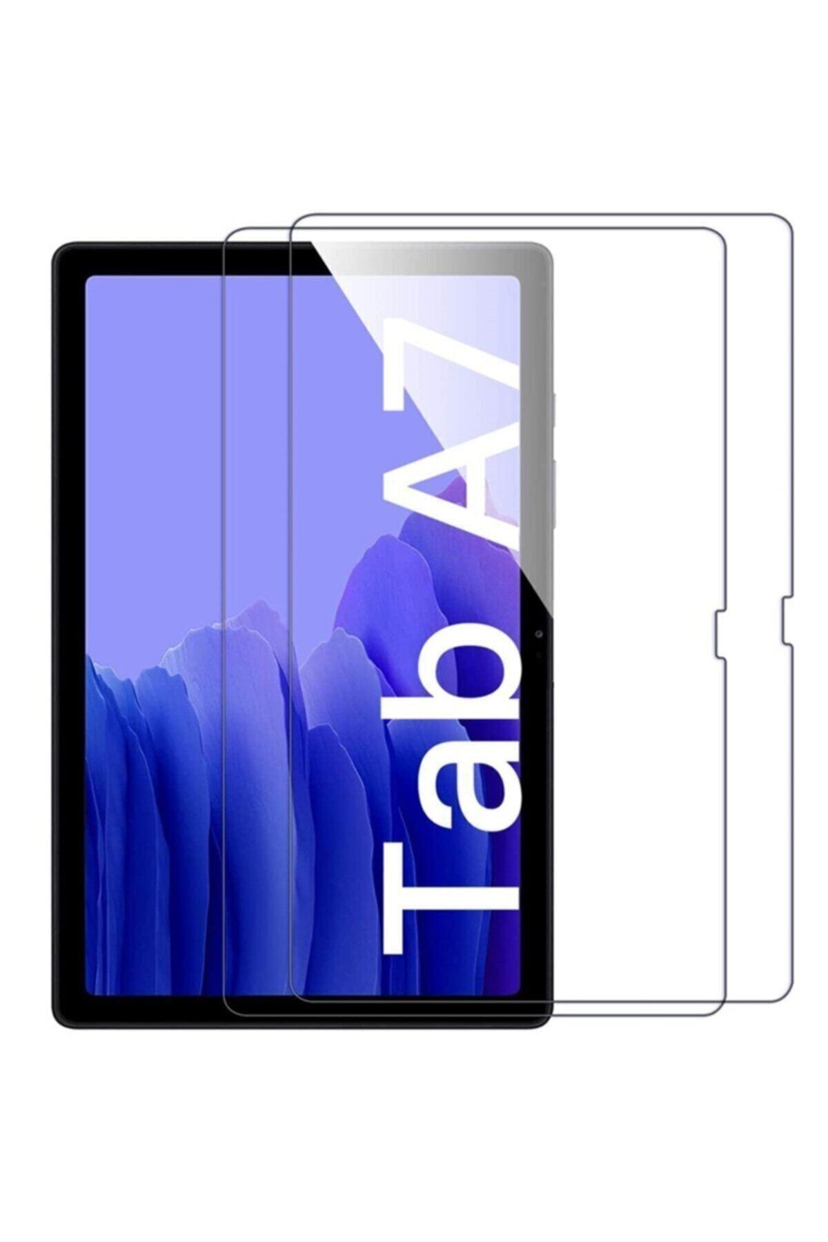 "HyperCep Samsung Galaxy Tab A7 T500 T505 Kılıf 10.4"" 2020 Ekran Koruyucu Şeffaf Kırılmaz Cam 1"