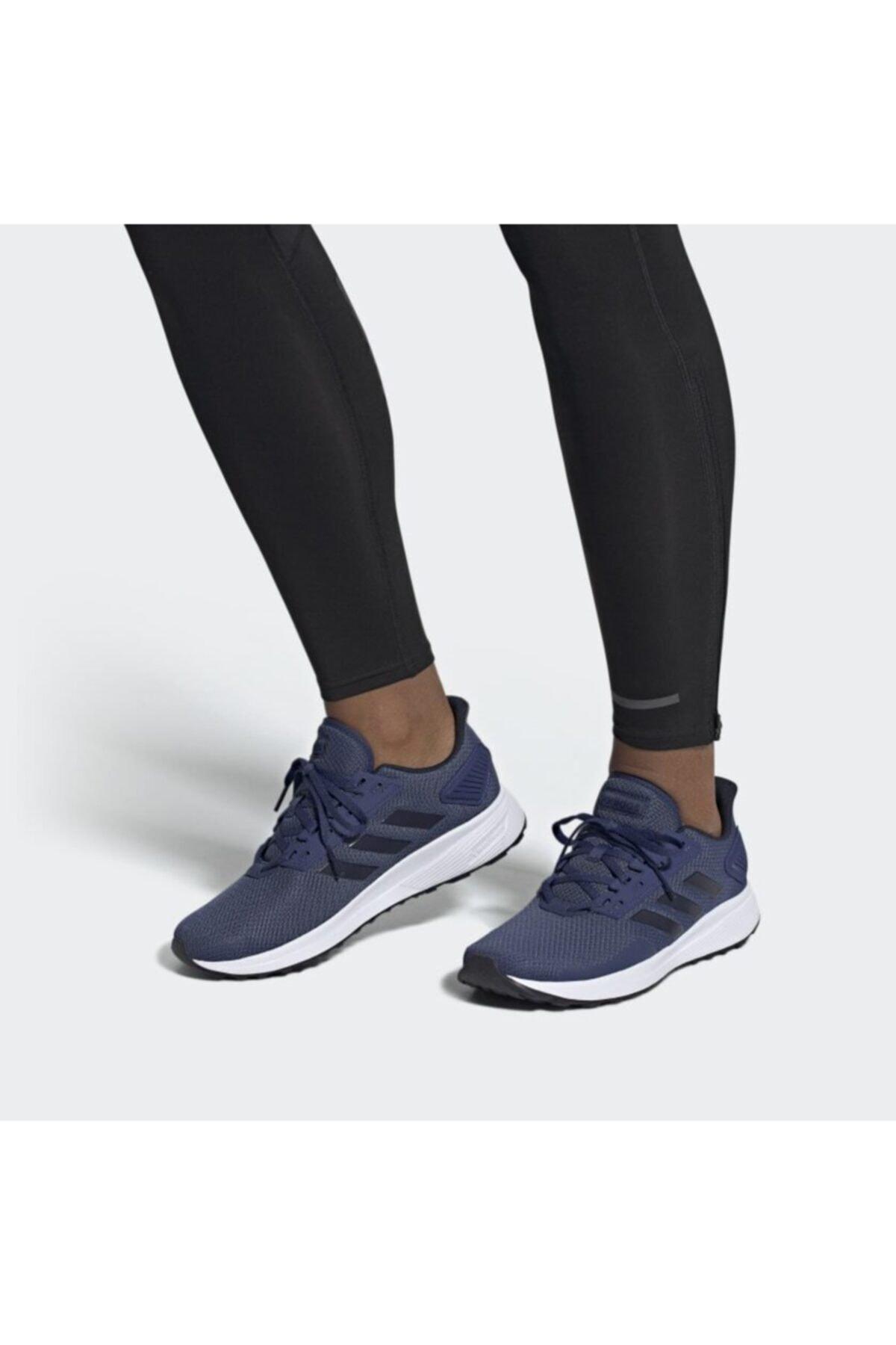 adidas Erkek Lacivert Koşu Ayakkabısı Duramo 9 1