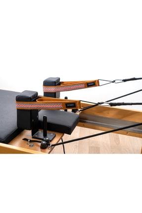 RAINBO Reformer Pilates İçin Desenli Double Straps İkili Elcik İpli Model