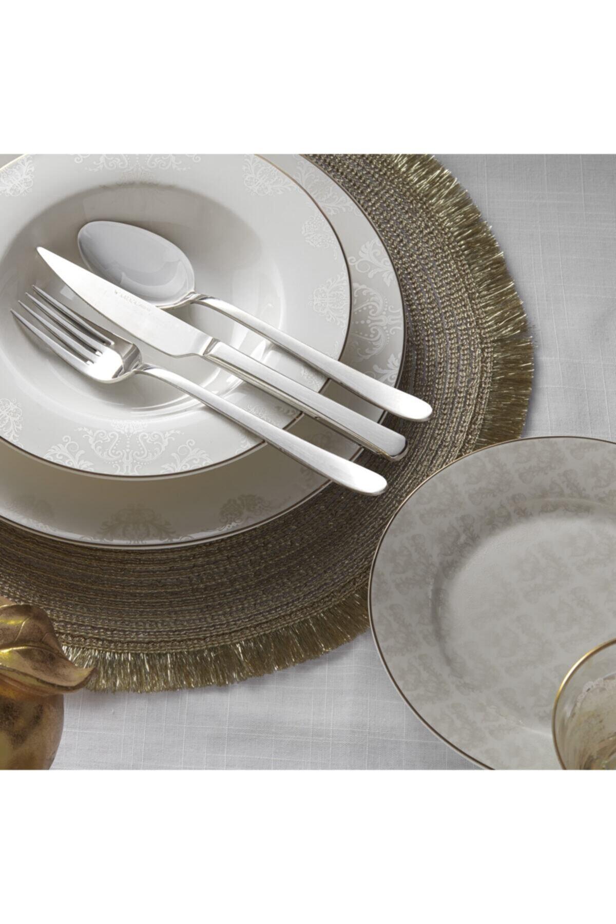 Karaca Siena 56 Parça 12 Kişilik Gold Yemek Takımı 2