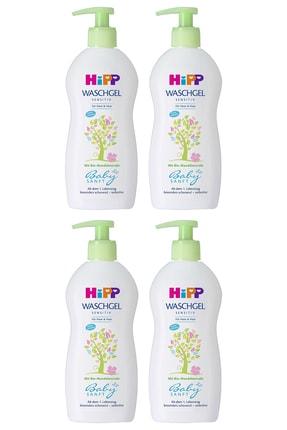 Hipp Babysanft Bebek Saç Ve Vücut Banyo Jeli 400 Ml X 4 Adet