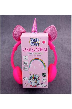 CDY Unicorn Kulaklık Pembe